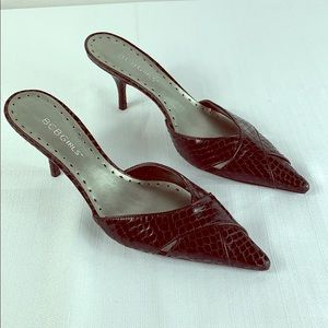 "BCBGIRLS Mule heels 2.5"""